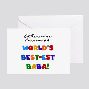 Otherwise Known Best Baba Greeting Card