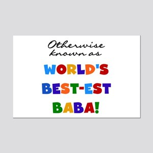 Otherwise Known Best Baba Mini Poster Print