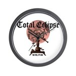 Total eclipse Wall Clock