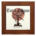 Total eclipse Framed Tile