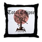 Total eclipse Throw Pillow