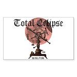 Total eclipse Sticker (Rectangle 50 pk)
