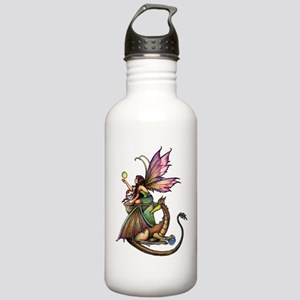 Dragon's Orbs Fairy and Dragon Art Stainless Water