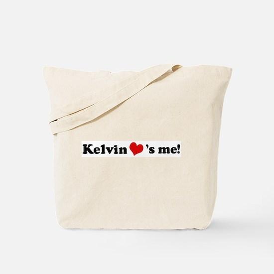 Kelvin loves me Tote Bag