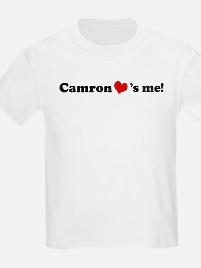 Camron loves me Kids T-Shirt