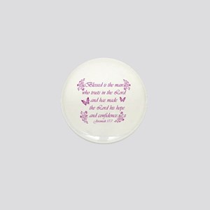 Inspirational Christian quotes Mini Button