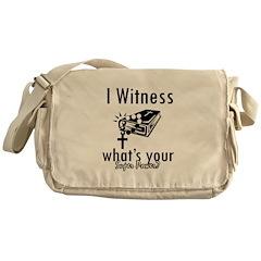 I witness Messenger Bag