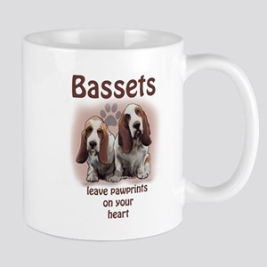 basset footprints Mug