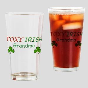 Foxy Irish Grandma - 2 Drinking Glass