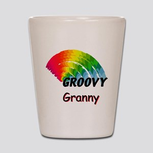 Groovy Granny Shot Glass