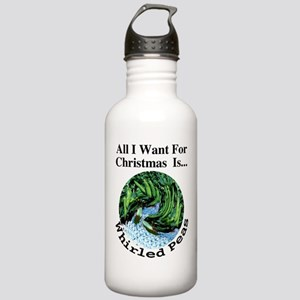 Christmas Peas Stainless Water Bottle 1.0L