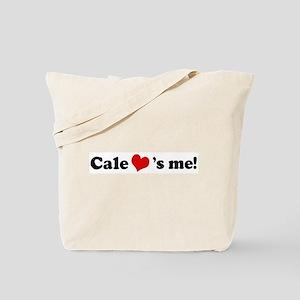 Cale loves me Tote Bag