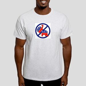 Anti-Republican/Anti-GOP Ash Grey T-Shirt