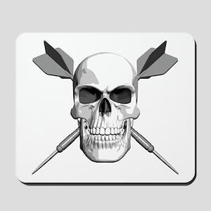 Darts Skull Mousepad
