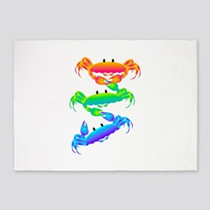 Crabs Hang on 5'x7'Area Rug