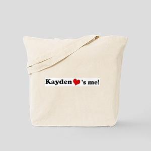 Kayden loves me Tote Bag