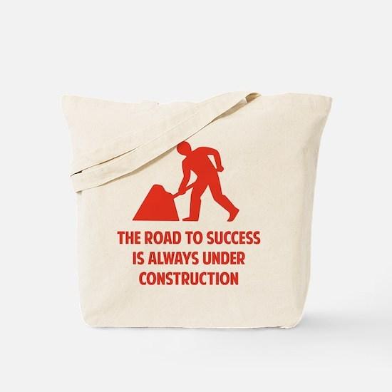 Road to Success Tote Bag