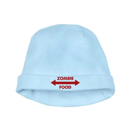 Zombie Food baby hat