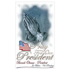 Pray for President Obama Poster