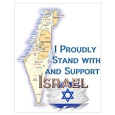 I Stand With Israel Poster