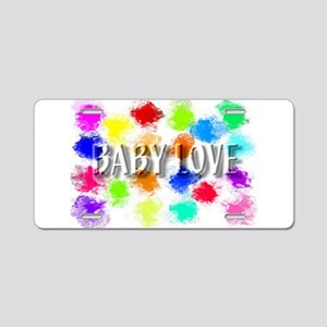 babylove Aluminum License Plate