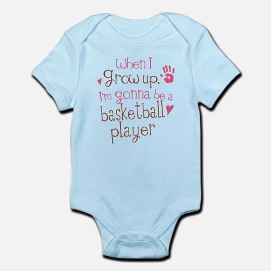 Kids Future Basketball Player Infant Bodysuit