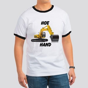 """Hoe Hand on front """"Diggin' Ditches Pimpin' Bitches"""