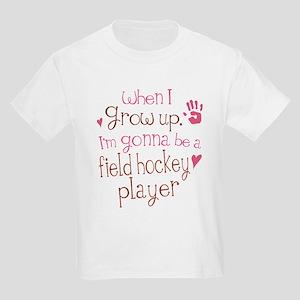Kids Future Field Hockey Player Kids Light T-Shirt