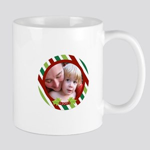 Customizable Photo Ornament Mug