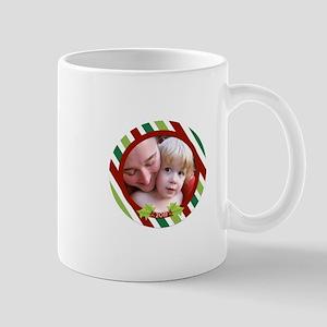 Customizable Photo Ornament Mug