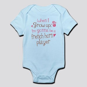 Kids Future French Horn Player Infant Bodysuit