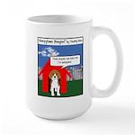 Official Sleepytown Beagles, Cartoon Large Mugs