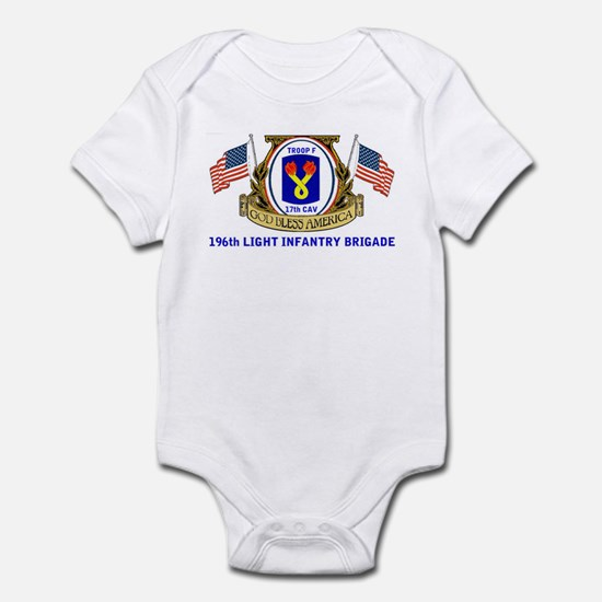TROOP F, 17th CAVALRY Infant Bodysuit