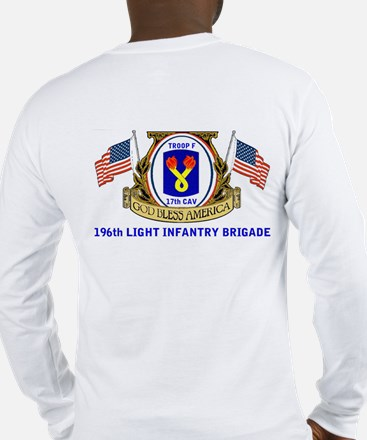 TROOP F, 17th CAVALRY Long Sleeve T-Shirt
