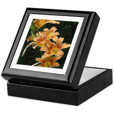 Daylilies Keepsake Box