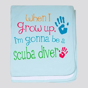 Future Scuba Diver baby blanket