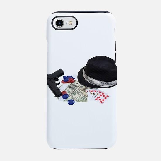 GangsterGamblingKit080709 copy iPhone 7 Tough Case