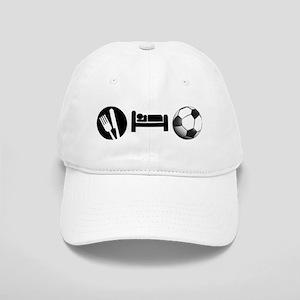 Eat Sleep Soccer Cap