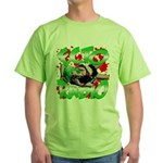 A Bloody Good Time Green T-Shirt