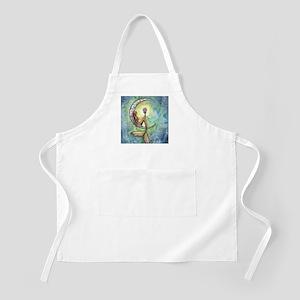 Mermaid Moon Fantasy Art Apron