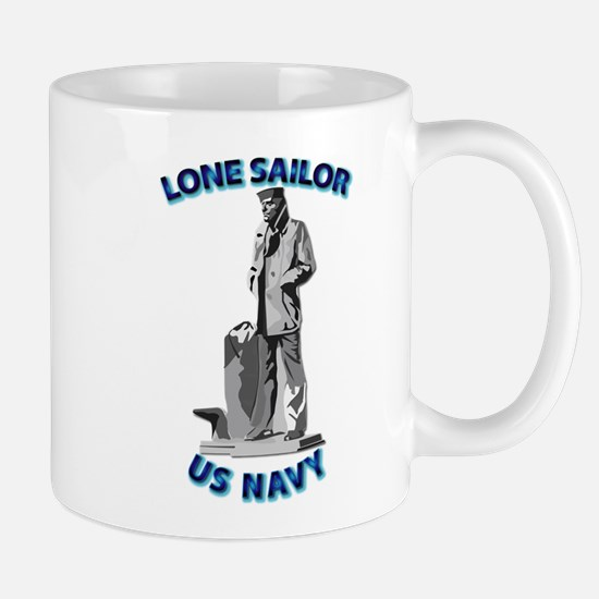 Navy - Lone Sailor - 3D Mug