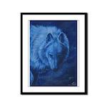 Lone Wolf Framed Panel Print