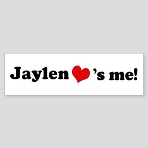 Jaylen loves me Bumper Sticker