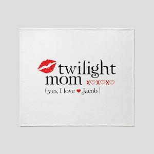 Twilight mom Throw Blanket