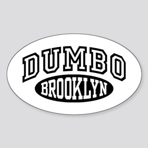 Dumbo Brooklyn Sticker (Oval)