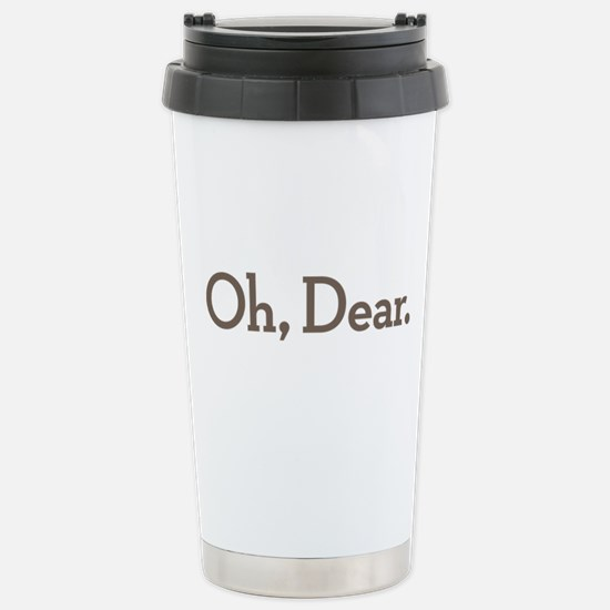 Oh Dear Stainless Steel Travel Mug