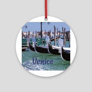 Venice Ornament (Round)