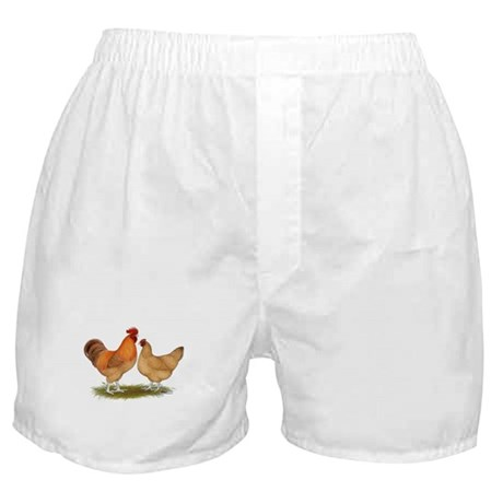 Lincolnshire Buff Chickens Boxer Shorts