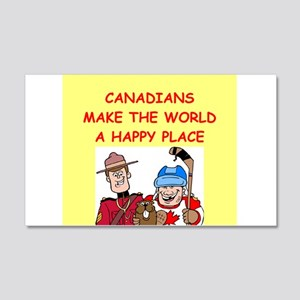 canadians 22x14 Wall Peel