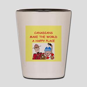 canadians Shot Glass